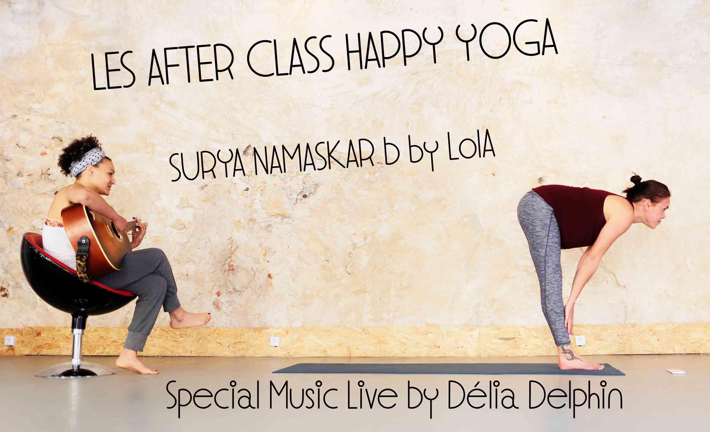 Surya Namaskar B - After Class Yoga - Projet la Passerelle