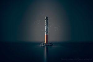 cigarette consumée