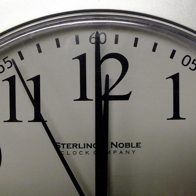 horloge-minuit