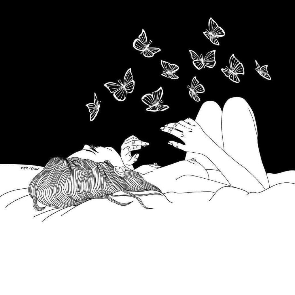 Vivre - illustration Rita Renoir