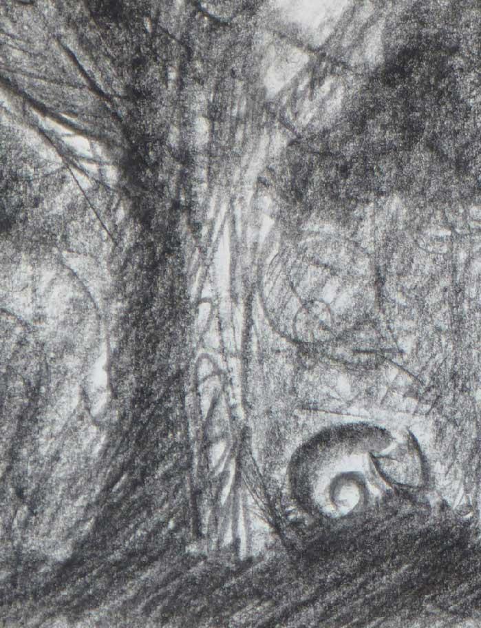 Le chat, sous un arbre couché - Projet la Passerelle