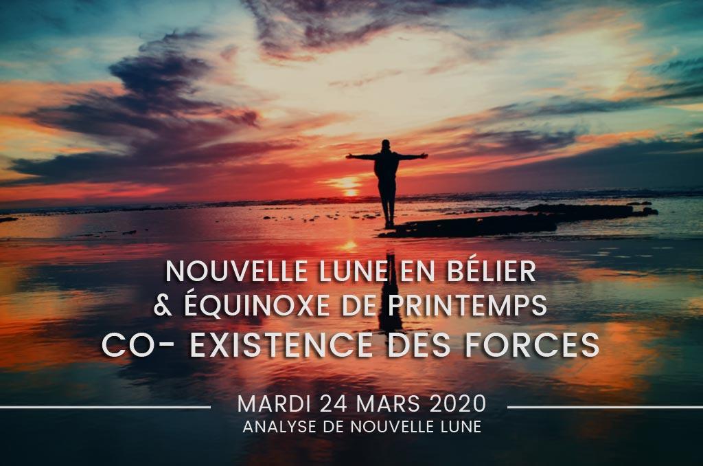 Nouvelle Lune & Équinoxe de printemps 2020, CO-EXISTENCE Yin Yang