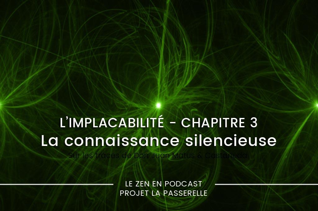 Connaissance silencieuse, suffisance et implacabilité – podcast